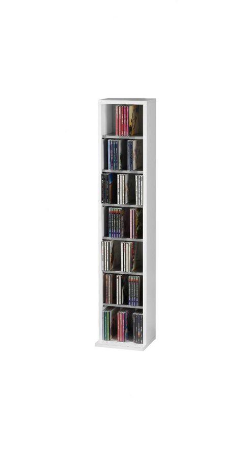 VCM V cm Elementa CD / DVD Storage Rack - White