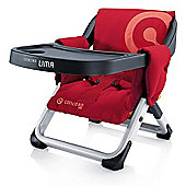 Concord Lima Folding Travel Chair (Lava Red)
