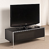 Techlink BladeA Corner TV Stand - Satin Black