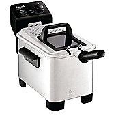 Tefal FR333040 3 Litre Easy Pro Semi Professional Fryer - Stainless Steel