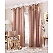 Catherine Lansfield Home Opulent Velvet Mink Curtains 66x90