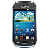 Orange Samsung Galaxy Young Blue