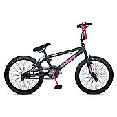 Rooster Go Easy Freestyle Girls BMX Black/Pink