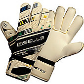 Sells Wrap Elite Competition Goalkeeper Gloves - White