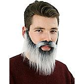 Grey Lumberjack Beard