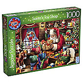 Santa's Toy Shop 1000-piece Jigsaw Puzzle