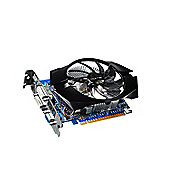 Gigabyte Technology GIGABYTE NVIDIA GT640 900MHz 1800MHz 2048MB 128-bit DDR3 DL-DVI-D HDMI FAN PCI-E GRAPHICS CARD