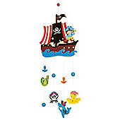 Bigjigs Toys BJ857 Mobile (Pirate)