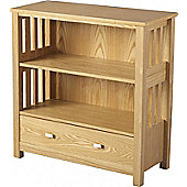 Ashmore 1 Drawer Bookcase (Low) Ash Veneer