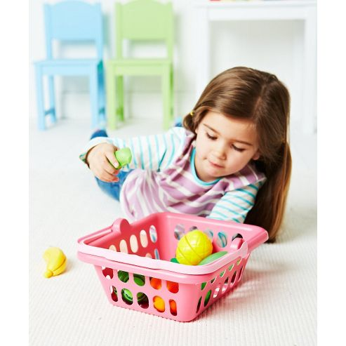 ELC Shopping Basket - Pink