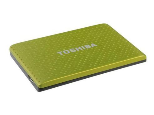 Toshiba Stor.E PARTNER 2.5 inch 500GB SuperSpeed USB 3.0 (Green)