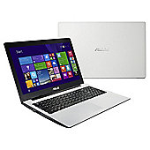 "Asus X553MA 15.6"" Laptop, Intel Celeron, 4GB Memory, 1TB Storage - White"