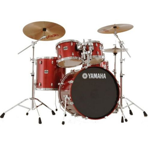 Yamaha Stage Custom Birch Drum Kit - Cranberry Red