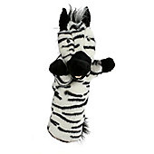Long Sleeved Zebra Puppet