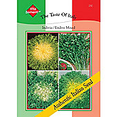 Endive 'Mixed' - Vita Sementi® Italian Seeds - 1 packet (6000 seeds)