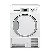 Beko DCU9330W Condenser Tumble Dryer, 9, B Energy Rating, White