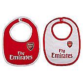 Arsenal FC 2 Pk Baby Bibs