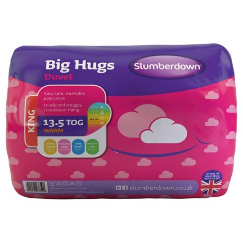 Slumberdown Kingsize Duvet 13.5 Tog - Big Hugs