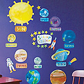Solar System Children's Wall Stickers