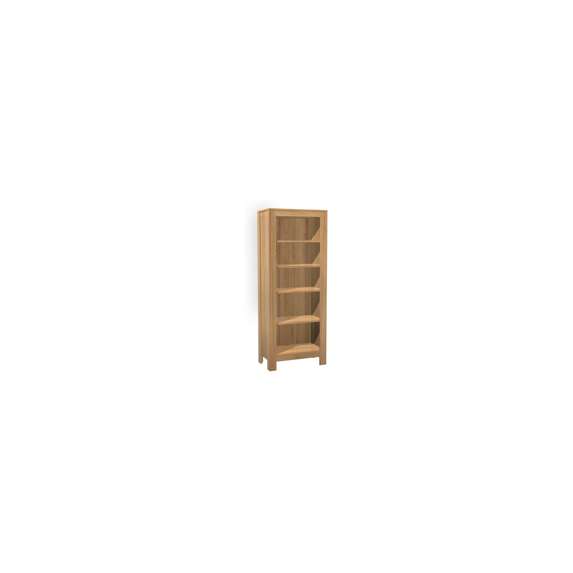 Kelburn Furniture Milano Tall Bookcase in Clear Satin Lacquer at Tescos Direct