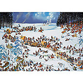 Napoleons Winter - 2000pc Puzzle