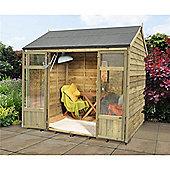 8ft x 6ft Winchcombe Summerhouse 8 x 6 Garden Wooden Summerhouse 8x6