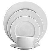 Fairmont Main 4 Person, 12 Piece White Porcelain Dinner Set