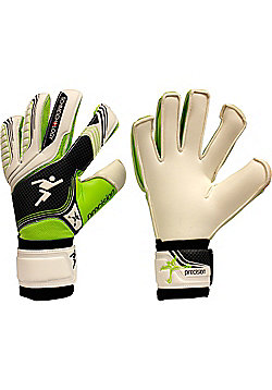 Precision Gk Schmeichology 5 Box Cut Flat Junior Goalkeeper Gloves - White