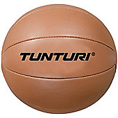 Tunturi Synthetic Leather Medicine Ball - 5kg