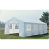 Bentley Garden 8m x 4m Marquee Wedding/Party Tent Gazebo - White