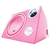 In Phase XTP12A 12 inch Active 1400 Watt Bass Box - Pink
