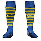 2013-14 Arsenal Away Nike Football Socks (Blue) - Blue