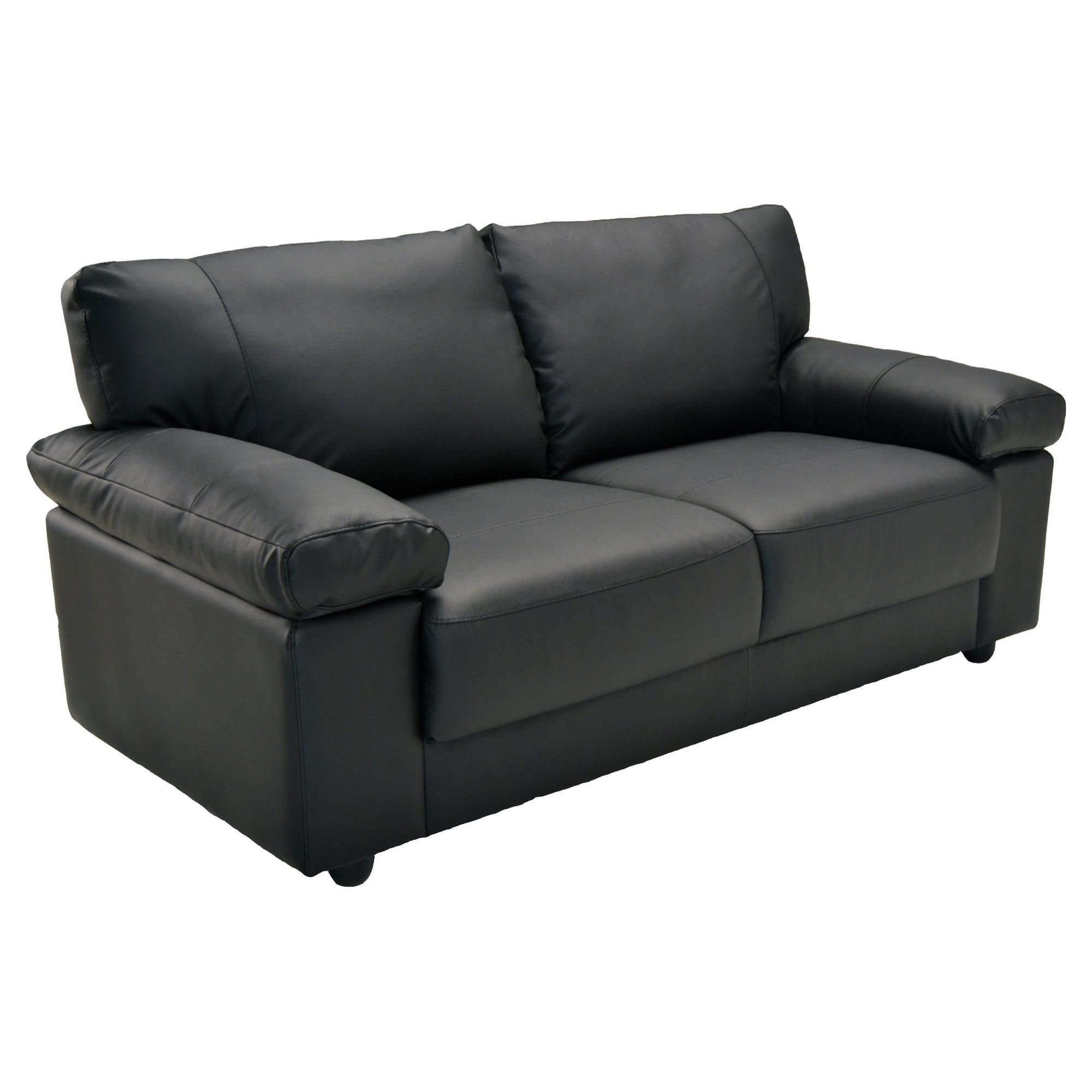 Roma Medium Sofa Black at Tesco Direct