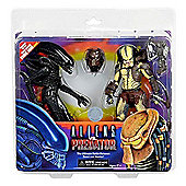 Alien Vs Predator 7in Scale Action Figure 2 Pack with Mini Comic - Action Figures