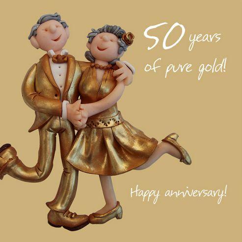 Holy Mackerel Happy 50th Wedding Anniversary. Happy Gold Anniversary ...