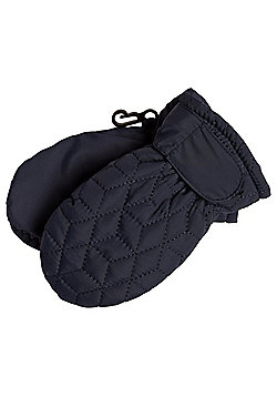 F&F Quilted Ski Mittens with Thinsulate™ - Blue