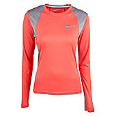 Glide Womens Long Sleeve Top - Pink