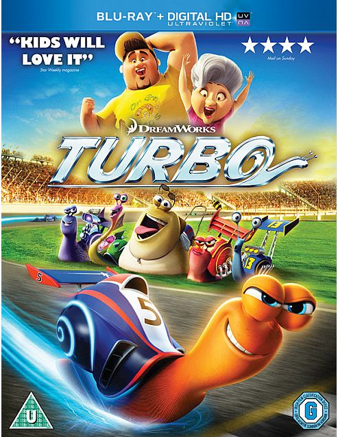 Turbo (Blu-ray & UV)