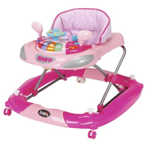 Kiddu 2in1 Harley Baby Rocker-Walker, Pink