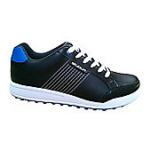 Stuburt Mens Pro-Am XT Spikeless Golf Shoes in 8.5 Black & Blue
