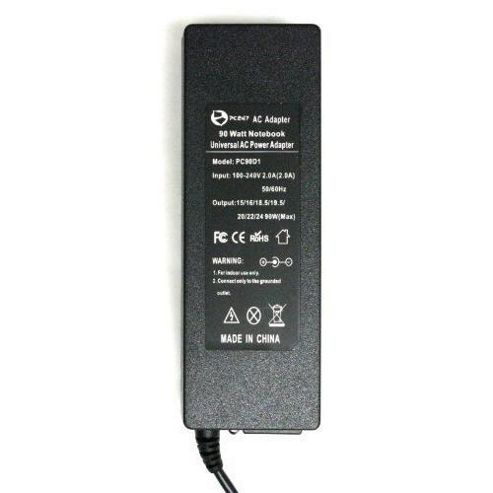 PC247 Universal 90W Switchable Laptop Adapter/Charger/Power Supply