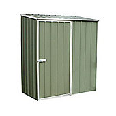 Absco 1.52m x 0.78m Pale Eucalyptus Colour Metal Shed