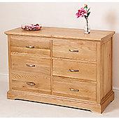 Aspen Solid Oak 6 Drawer Chest