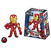 """Metals Die Cast Marvel Civil War: 4"""" Iron Man"""