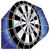 Harrows Hologram Dartboard 1603 Dart Flights Standard Pack of 10