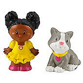Fisher-Price Little People Tessa And Kitty