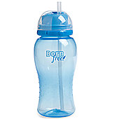 Born Free Twist N Pop Straw Cup - Blue