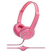 groov-e GV897PK Streetz Stereo Headphones - Pink