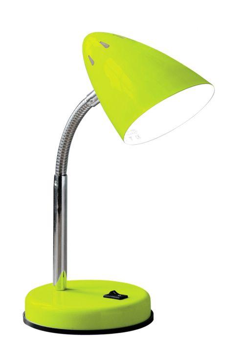 Premier Housewares Flexi Desk Lamp - Green