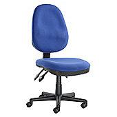 Enduro Operator Chair with Triple Paddle - Aqua
